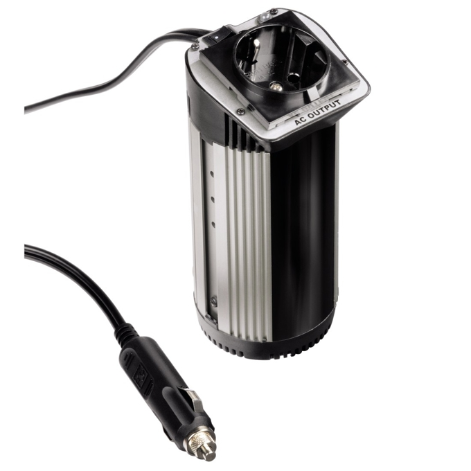 Инвертор HAMA, 12V DC -> 220V AC, 100W (280W max) image