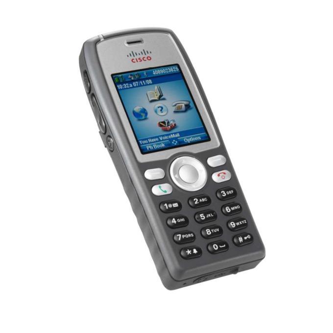 VoIP Телефон, Cisco Unified Wireless 7925G, 6 линии, цветен дисплей, безжичен, Wi-Fi image
