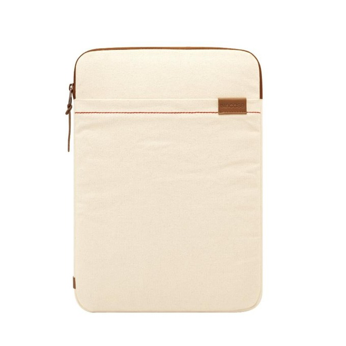 """Калъф Incase Terra Collection, за MacBook Air 11 и всеки преносим компютър с големина до 11.6"""", кремав image"""