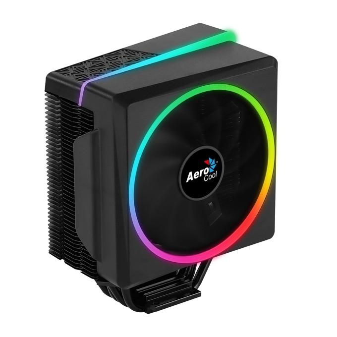 Охлаждане за процесор AeroCool Cylon 4 ARGB, Intel- LGA2066, LGA2011-3, LGA2011-0, LGA1156, LGA1155, LGA1151, LGA1150, LGA775, AMD- FM1, FM2, FM2+, AM2, AM2+, AM3, AM3+, AM4 image