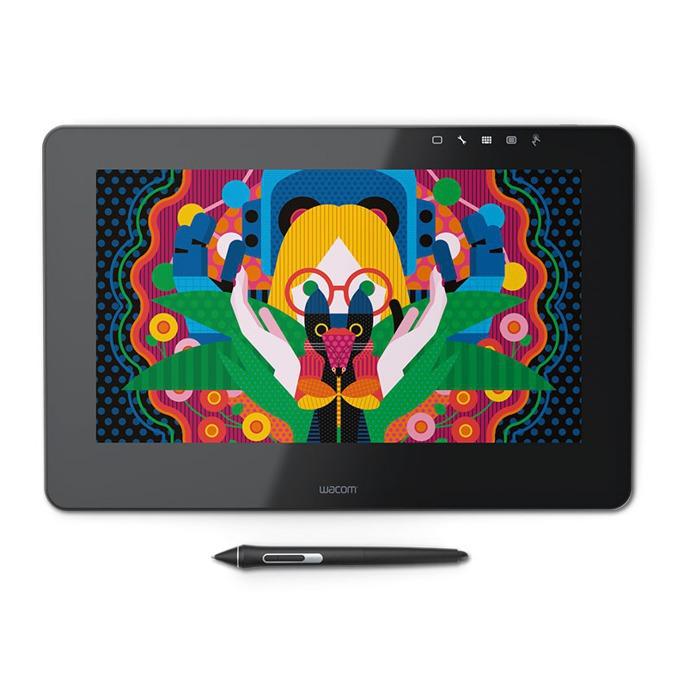 """Графичен таблет Wacom Cintiq Pro 13(черен)(DTH-1320A-EU), 13.3""""(33.78cm) IPS Full HD дисплей, 930:1, Wacom Pro Pen 2, 5080 lpi, 8192 нива на натиск image"""