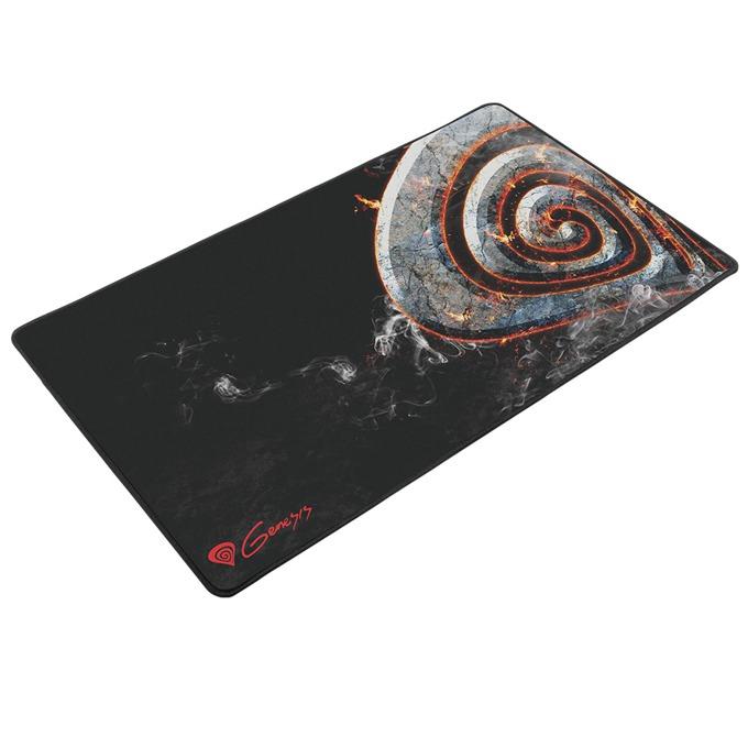 Подложка за мишка Natec Genesis M12 MAXI LAVA, гейминг, черна със щампа, 900 x 450 x 3mm image