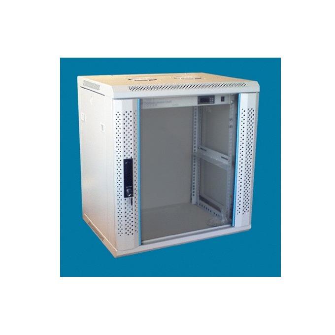 "Комуникационен шкаф Toten WM.6422, 19"", 22U, 600x450 мм, до 60кг товароносимост, IP20 защита image"