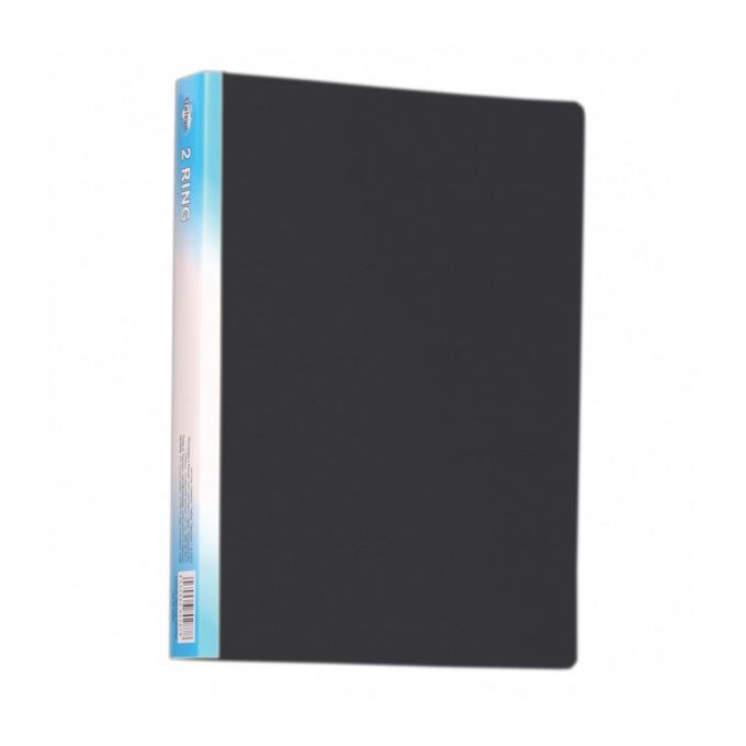 Папка Centrum, за документи с формат до A4, с два ринга, широчина 3см., черна image