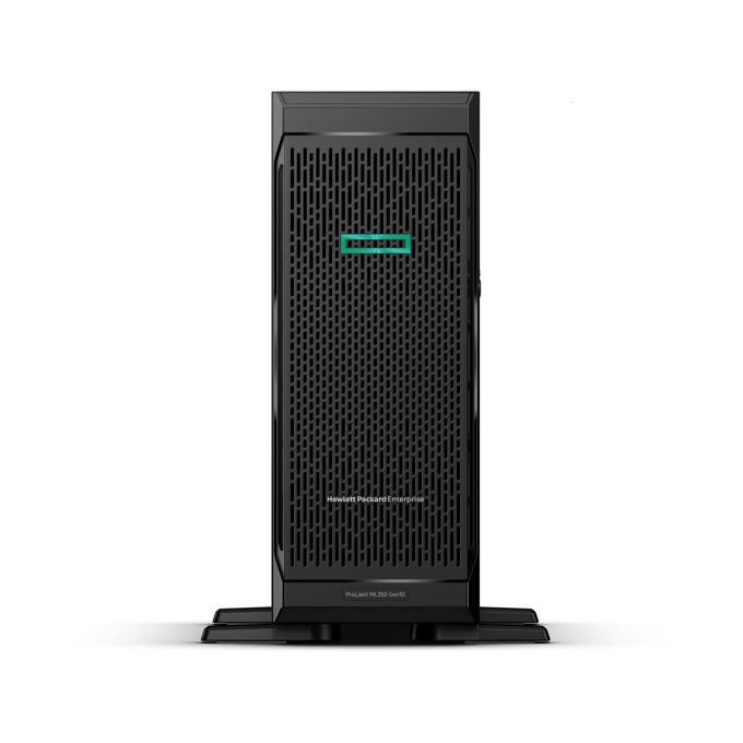 Сървър HPE ML350 G10 (P04674-425), осемядрен Intel Xeon-Silver 4110 2.1GHz, 16GB DDR4 UDIMM, 4x 1Gb, 1x Display Port, 6x USB, 800W захранване image
