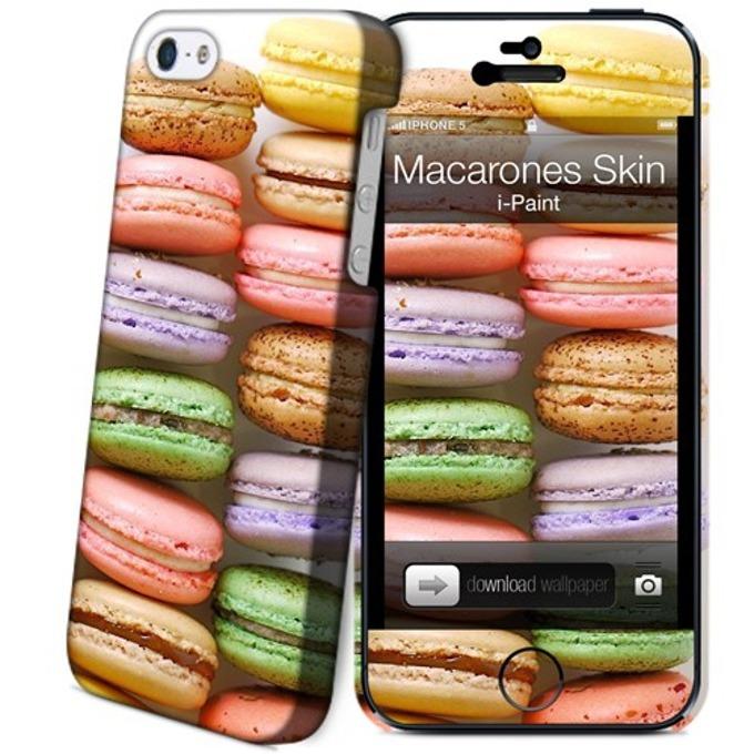 Протектор iPaint Macarones Case за iPhone 5/5s image