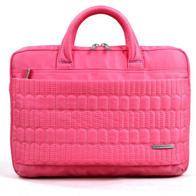 "Дамска чанта за лаптоп Kingsons Electra Series (KS3080W-P) за лаптопи до 13.3""(33.78 cm), розова image"