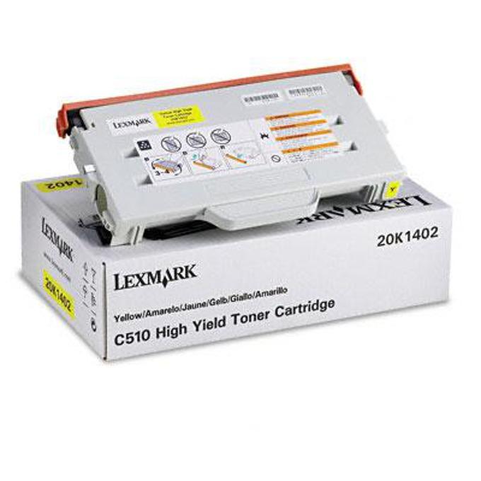 КАСЕТА ЗА LEXMARK OPTRA C 510 - Yellow - P№ 20K1402 - заб.: 6600k image