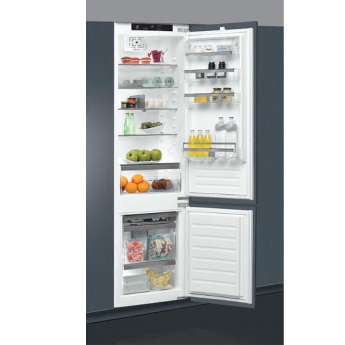 Хладилник с фризер Whirlpool ART 9810 / A+, клас А+, 308 л. общ обем, за вграждане, 314 kWh/годишно, LED осветление, 6-то чувство, бял image