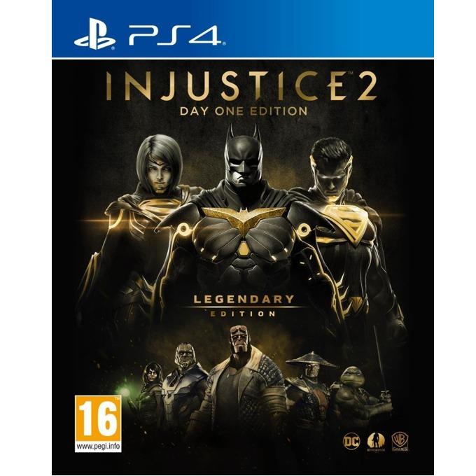 Игра за конзола Injustice 2 Legendary Steelbook Edition, за PS4 image