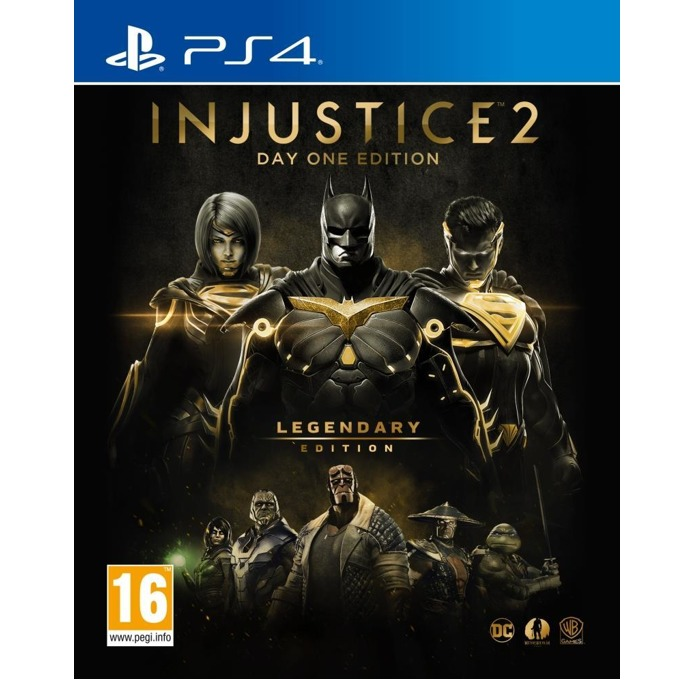 Игра за конзола Injustice 2 Legendary Steelbook Edition, за PS4 image