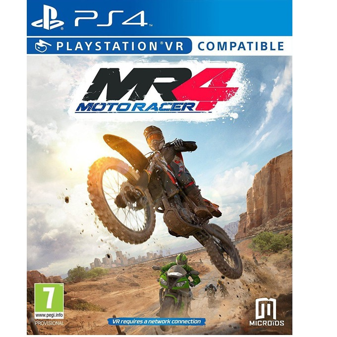 Игра за конзола Moto Racer 4, за PS4 image
