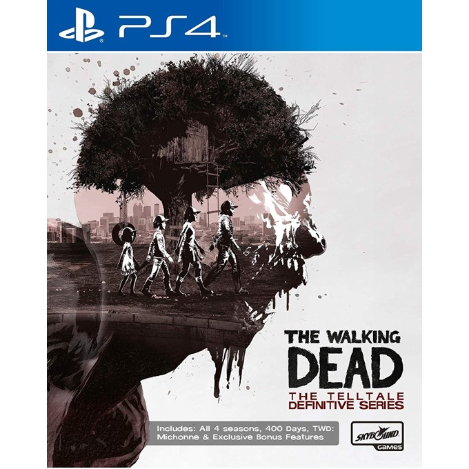 TT The Walking Dead: The Definitive Series PS4 product