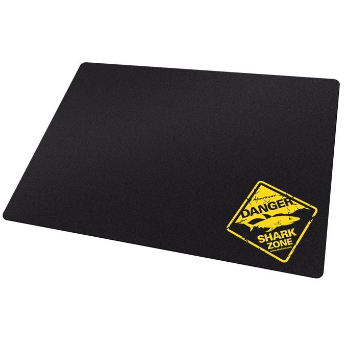 Подложка за мишка Sharkoon 1337 Tough, гейминг, черна, 355x255x3mm image