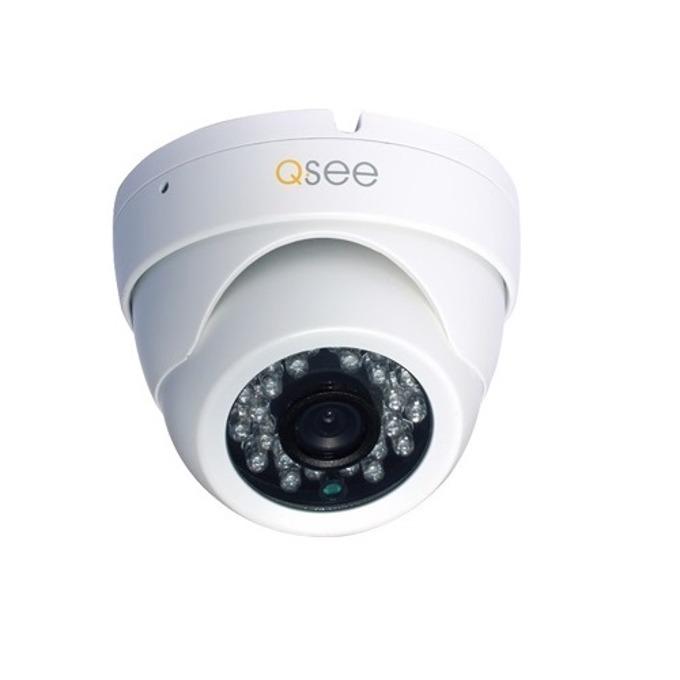 AHD камера Q-See QTH7233D, куполна, 2MP(1920x1080@30FPS), 2.8-12mm обектив, IR осветеност (до 30 метра), външна, IP66 защита image