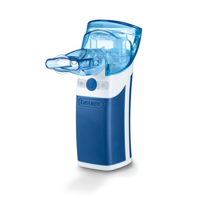Ултразвуков инхалатор Beurer IH50, обем на пулверизация 0,25 ml/min, маска за възрастни и маска за деца, за лечение на горната и долната част на дихателната система image
