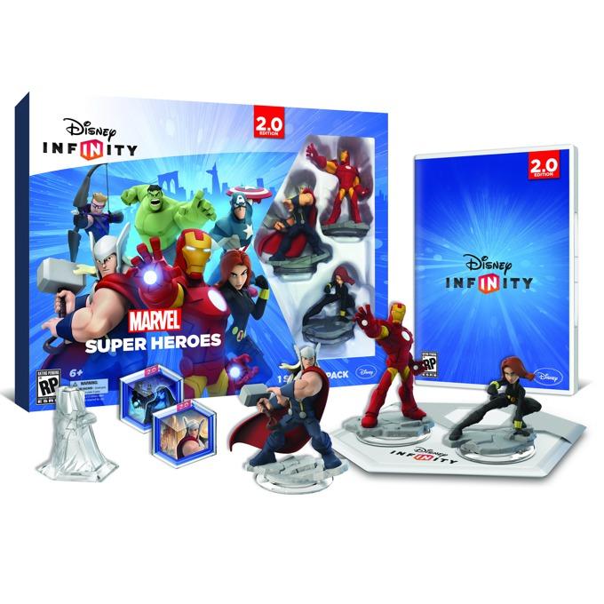 Disney Infinity 2.0: Marvel Super Heroes Starter Pack, за PS4 image