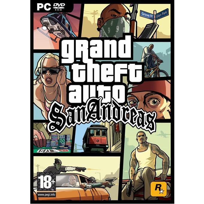 Игра Grand Theft Auto: San Andreas, за PC image