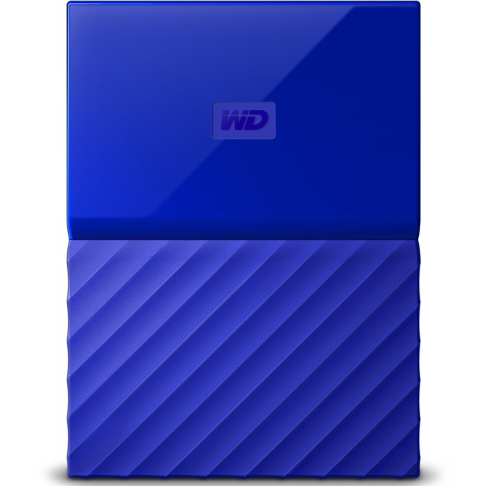 "3TB Western Digital MyPassport, външен, 2.5""(6.35cm), USB 3.0, син image"