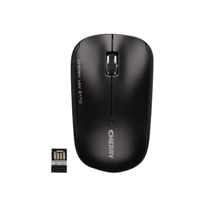 Мишка CHERRY MW 2110, оптична (2000 dpi), USB, черна image