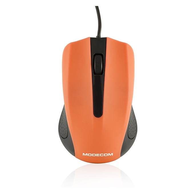 Мишка Modecom MC-M9, оптична (1000 dpi), оранжева image