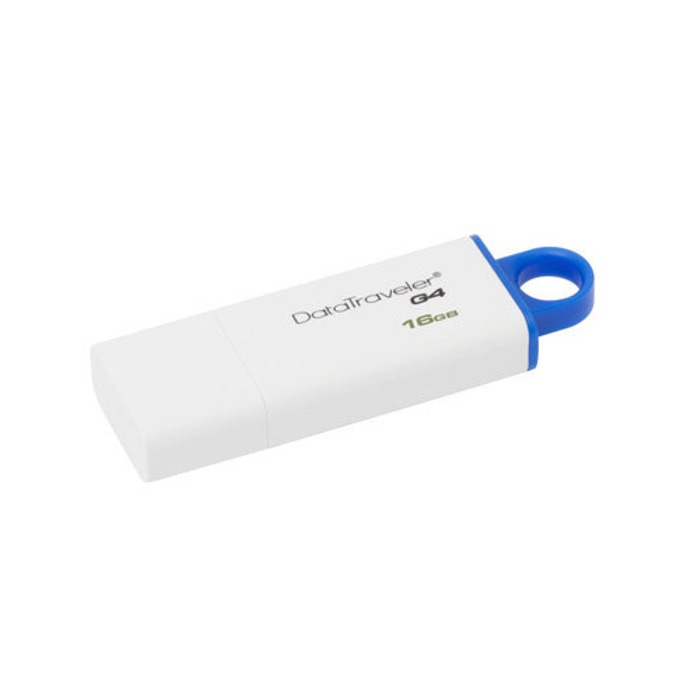 16GB USB Flash Drive, Kingston DataTraveler G4, USB 3.0, бяла image