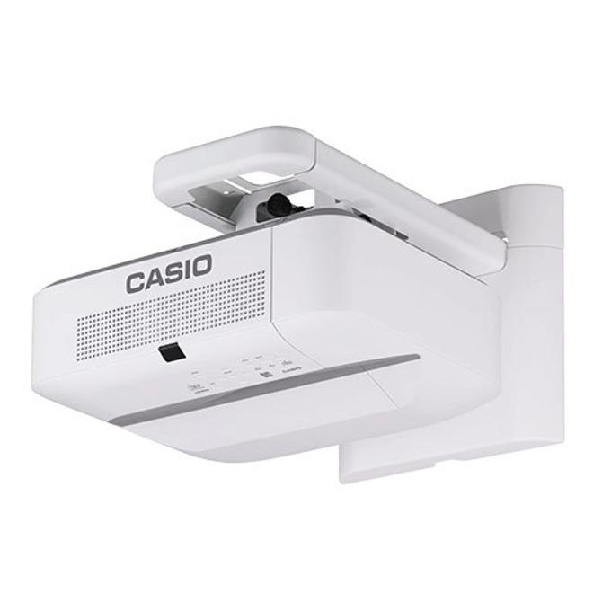 Проектор Casio XJ-UT312WN, DLP, WXGA (1280 x 800), 20 000:1, 3100 lm, HDMI, VGA, USB, RJ-45, бял image