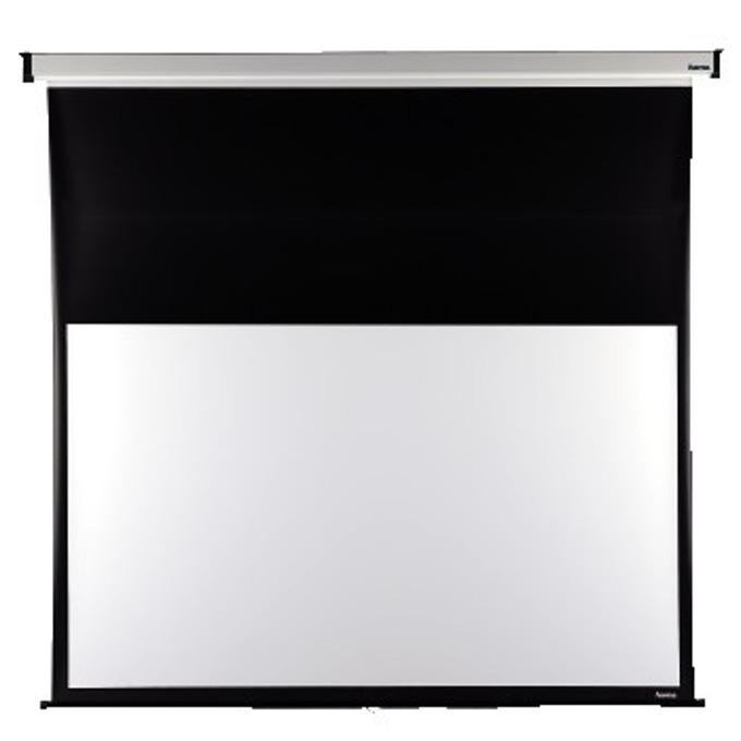 Екран за стена, 240x175см, с черна лента, 16:9