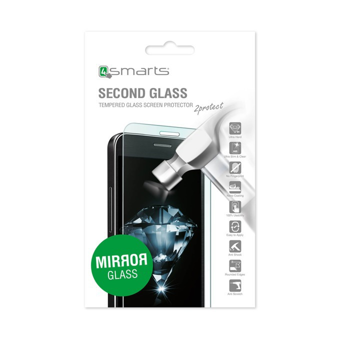 Протектор от закалено стъкло /Tempered Glass/, 4Smarts за Apple iPhone S/6S image