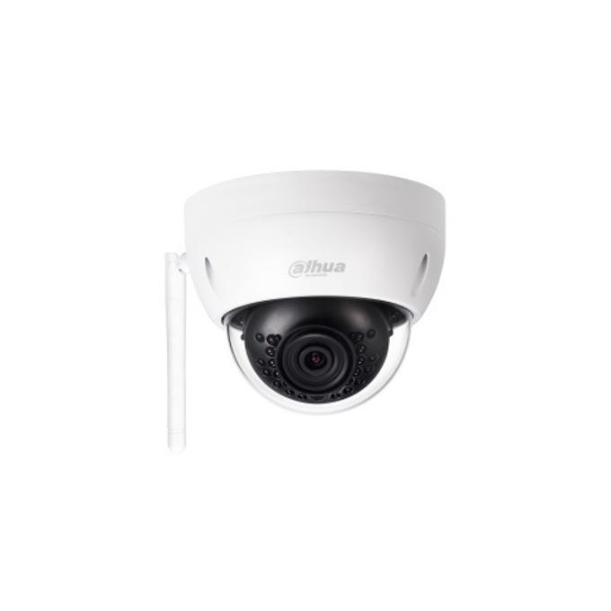 IP камера Dahua IPC-HDBW1320E-W-0280B, куполна, 3 Mpix(2304x1536@20FPS), 2.8 mm обектив, H.264/H.264H/H.264B/MJPEG, IR осветеност (до 30 метра), PoE, безжична, вандалоустойчива IK10, IP67 защита от вода, Wi-Fi support, Micro SD card slot image