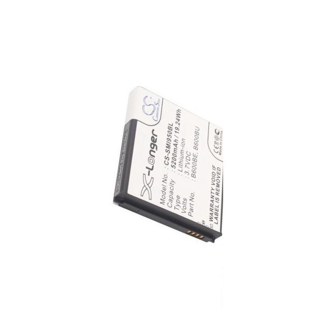 Батерия (заместител) за телефон Samsung Galaxy S4, 3.7V, 5200 mAh  image
