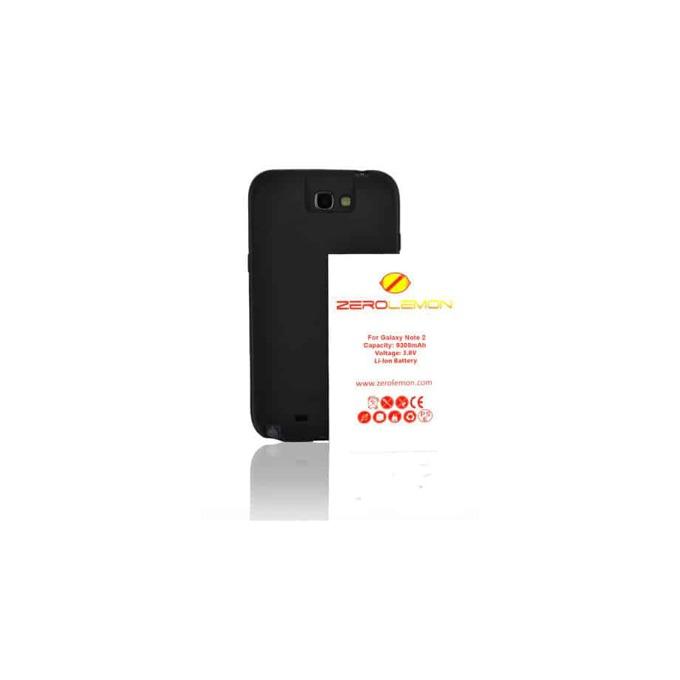 Протектор Zerolemon с батерия за Samsung Note 2 (R), черен image