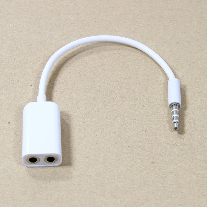 Кабел VCom CV204A, 3.5mm stereo jack (м) към 2х 3.5mm stereo jack (ж), 0.15m image