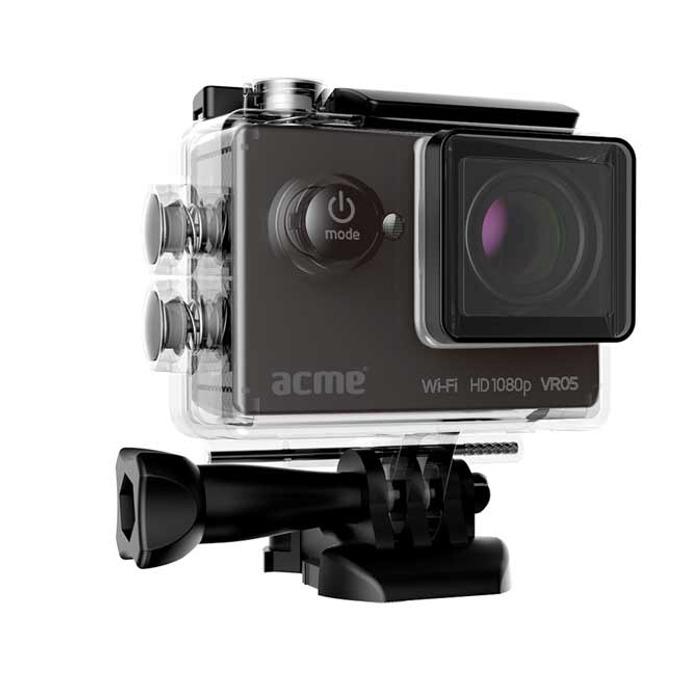 """Спортна Екшън камера Acme VR05, Full HD(30FPS), 2.0"""" (5.08 cm) LCD дисплей, 12 Mpix, Wi-Fi, microSD слот, micro HDMI, micro USB image"""