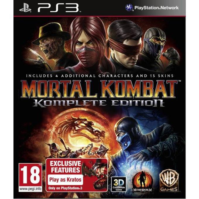 Игра за конзола Mortal Kombat Komplete Edition, за PlayStation 3 image