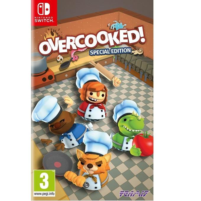 Игра за конзола Overcooked: Special Edition, за Switch image