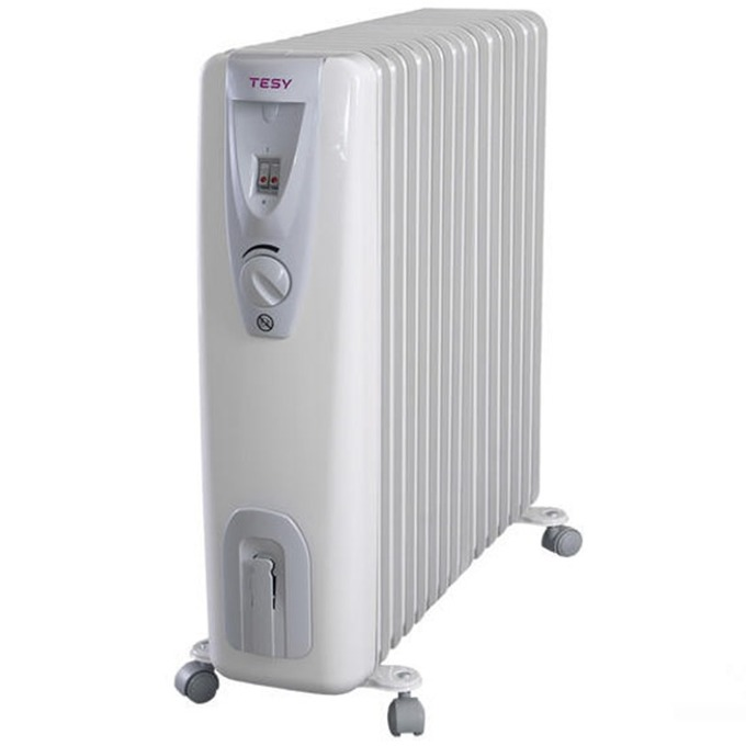 Mаслен радиатор Tesy CB 3014 E01 R, 3000W, сив image
