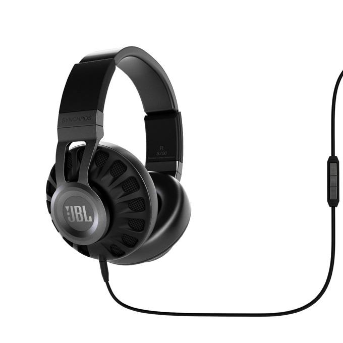 Слушалки JBL Synchros S700, микрофон, черни image