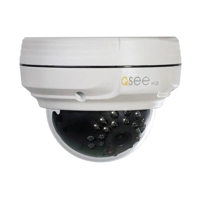 IP камера Q-See QTN8038D, куполна камера, 3 Mpix (2048x1536@30FPS), H.264/M-JPEG, IR осветеност( до 20м), външна, IP66 водозащита, microSD слот, PoE, Lan 10/100 image