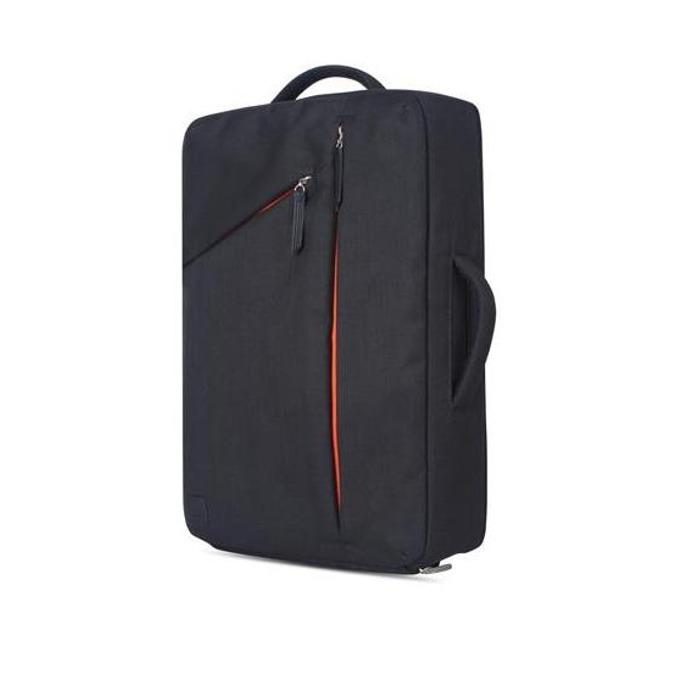 """Раница Moshi Venturo Slim Laptop Backpack за MacBook Pro 15 и лаптопи до 15.4"""" (39.11 cm), еко кожа, удароустойчива, влагоустойчива, удароустойчива, черна image"""