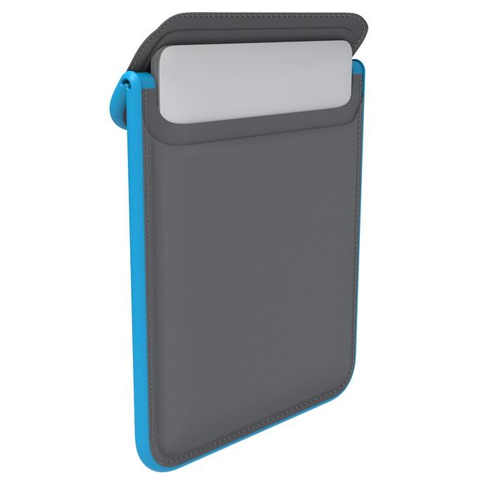 """Калъф /тип джоб/ Speck Flaptop Sleeve за MacBook Pro Retina 15"""", водоустойчив, противоударен, син/сив image"""