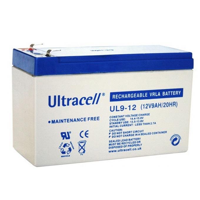 Акумулаторна батерия Ultracell 9-12, 12V, 9Ah image