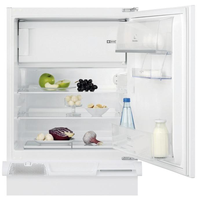 Хладилник с фризер Electrolux ERN 1200 FOW, клас A+, 119 л. общ обем, за вграждане, 193 kWh/годишно, бял image