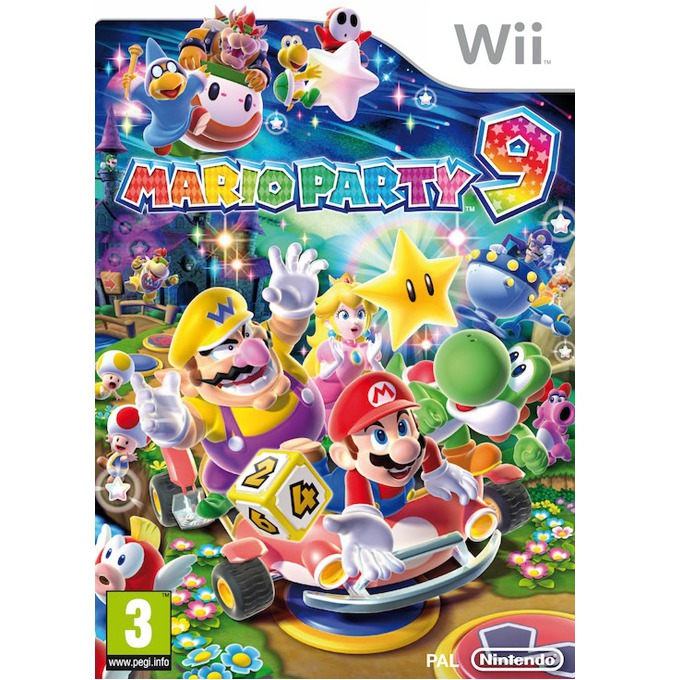 Mario Party 9, за WII image