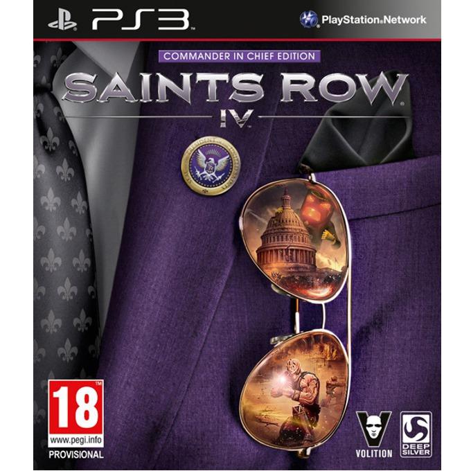 Игра за конзола Saints Row IV: Commander In Chief Edition, за PS3 image