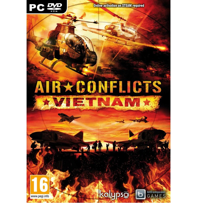 Air Conflicts: Vietnam, за PC image