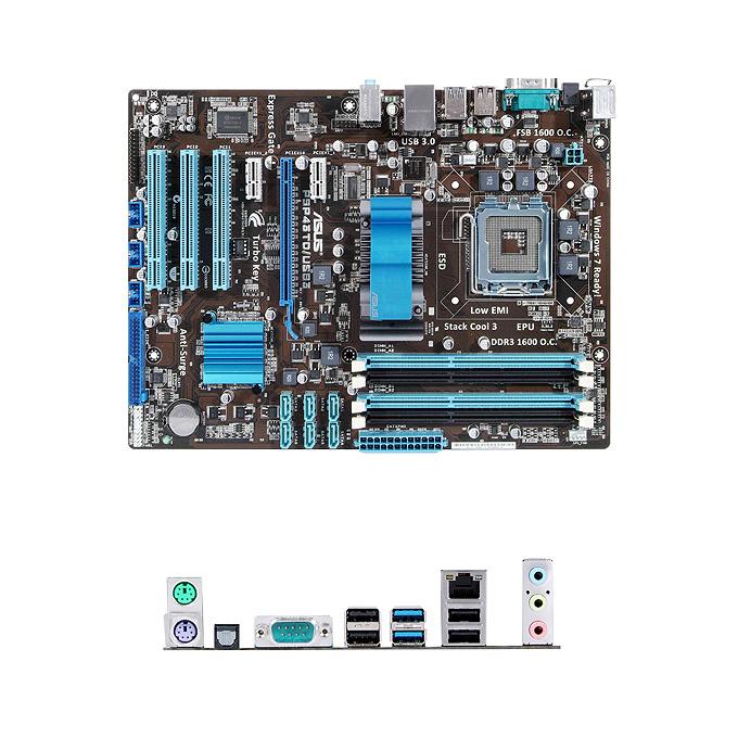 Дънна платка Asus P5P43TD/USB3 P43 JAR Computers