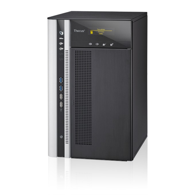 Thecus TopTower N8850, дву-ядрен Intel Core i3-2120 3.3 GHz, без твърд диск (8x SATA), 4GB DDR3 РАМ, HDMI, USB 3.0, Lan1000 image