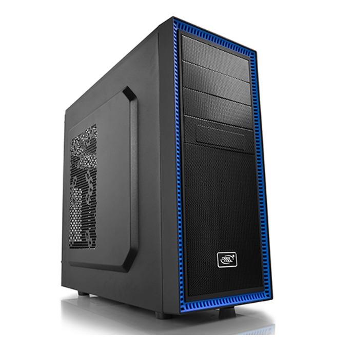 "Настолен компютър PC ""Raven"", шестядрен Coffee Lake Intel Core i7-8700 3.2/4.6GHz, Nvidia GeForce GTX 1050 Ti 4GB (DP), 16GB DDR4, 2TB HDD & 480GB SSD, Free Dos image"