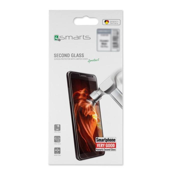 Протектор от закалено стъкло /Tempered Glass/ 4smarts Second Glass Limited Cover, за Samsung Galaxy A8 Star image